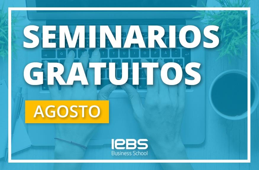 Seminarios online gratuitos que no te puedes perder en agosto