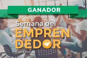 ¡Ya tenemos a los ganadores de La Semana del Emprendedor de IEBS!