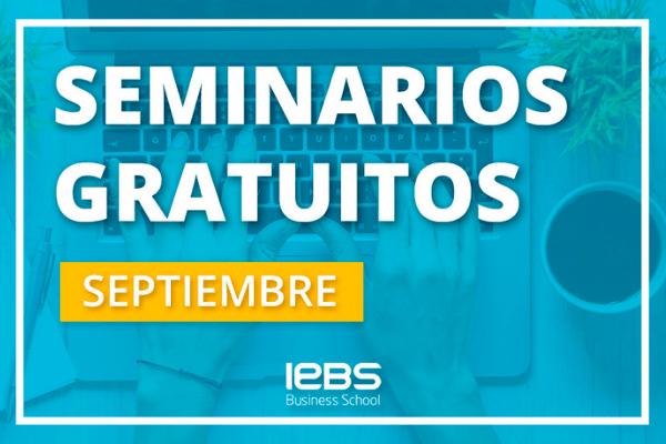 Seminarios online gratuitos que no te puedes perder en septiembre