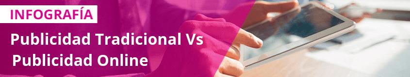 Publicidad Tradicional vs Publicidad online