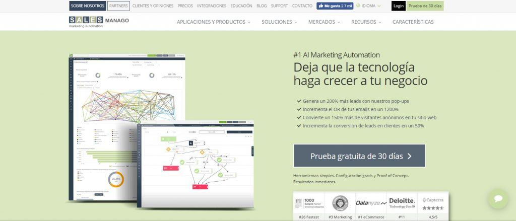 ¿Qué es el Marketing Automation o Automatización de Marketing? - salesmanago 1024x439