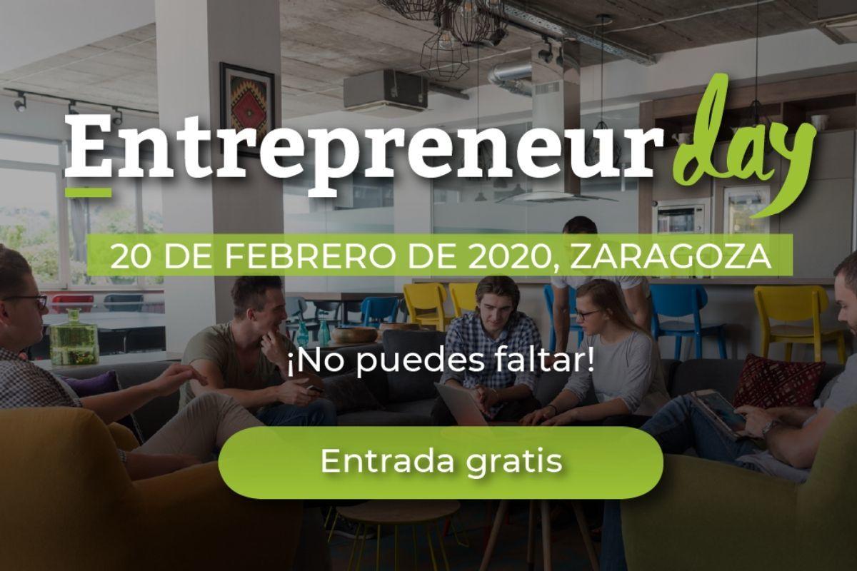 Llega el Entrepreneur Day a Zaragoza 2020, el evento creado para las startups