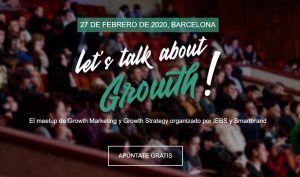 Llega la nueva edición de Let's talk about Growth!