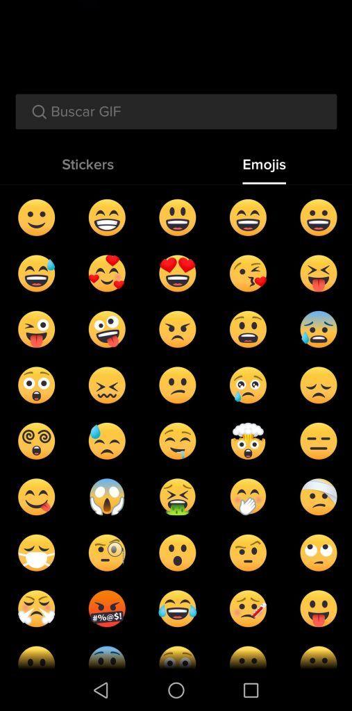 Tik Tok emojis