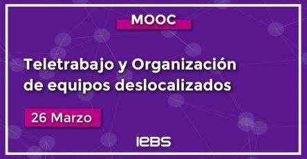 MOOC teletrabajo y organización de equipos deslocalizados