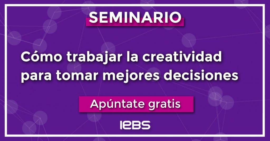 Seminarios online gratuitos que no te puedes perder en marzo - seminario 12 marzo IEBS fondo plano Linkedin apuntate 1024x535
