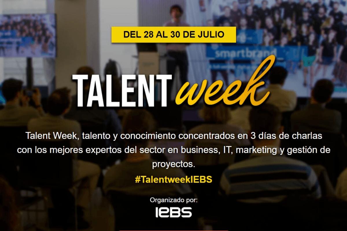 Llega la Talent Week, un evento con los mejores expertos en management