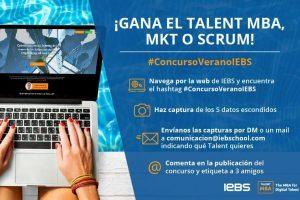 ¡Participa en el Concurso de Verano de IEBS y gana uno de nuestros Talents!