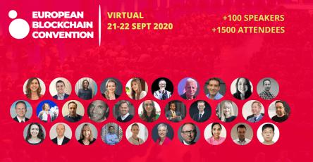 European Blockchain Convention llega con su primera edición virtual - Speakers grupal 444x230