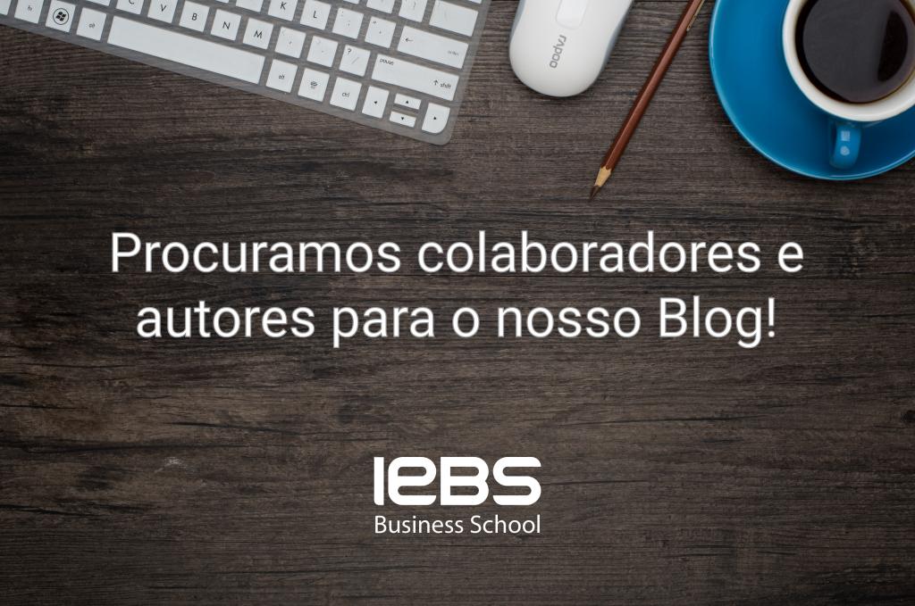 Procuramos colaboradores e autores para o nosso Blog!